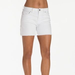 Boston Proper- Frayed Hem Jean Shorts- Sz 4- NWOT